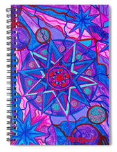Load image into Gallery viewer, Star Of Joy - Spiral Notebook