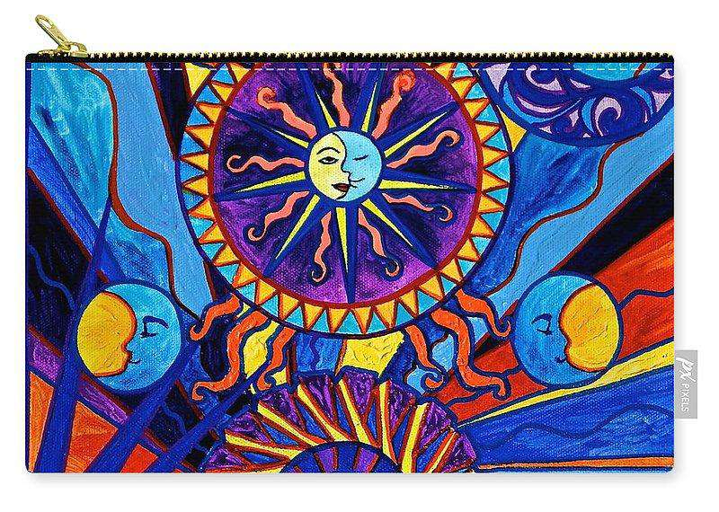 Sun And Moon - Carry-All Pouch