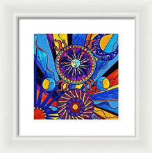 Load image into Gallery viewer, Sun And Moon - Framed Print