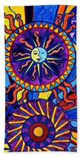 Load image into Gallery viewer, Sun And Moon - Beach Towel