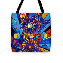Load image into Gallery viewer, Sun And Moon - Tote Bag
