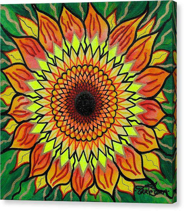 Sunflower - Canvas Print