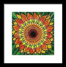 Load image into Gallery viewer, Sunflower - Framed Print