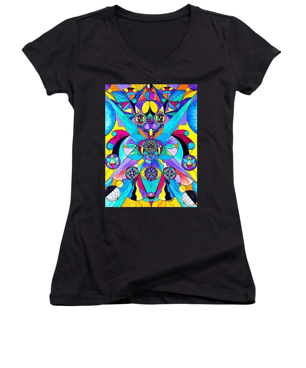 The Cure - Women's V-Neck