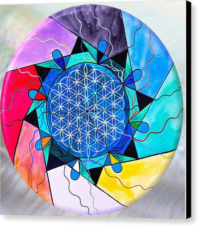 The Flower Of Life - Canvas Print