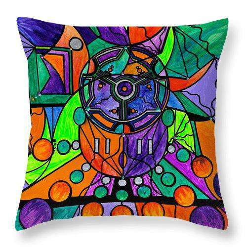 The Sheaf - Pleiadian Lightwork Model,  - Throw Pillow