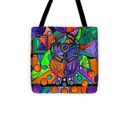 The Sheaf - Pleiadian Lightwork Model,  - Tote Bag