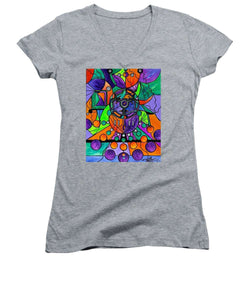 The Sheaf - Pleiadian Lightwork Model,  - Women's V-Neck