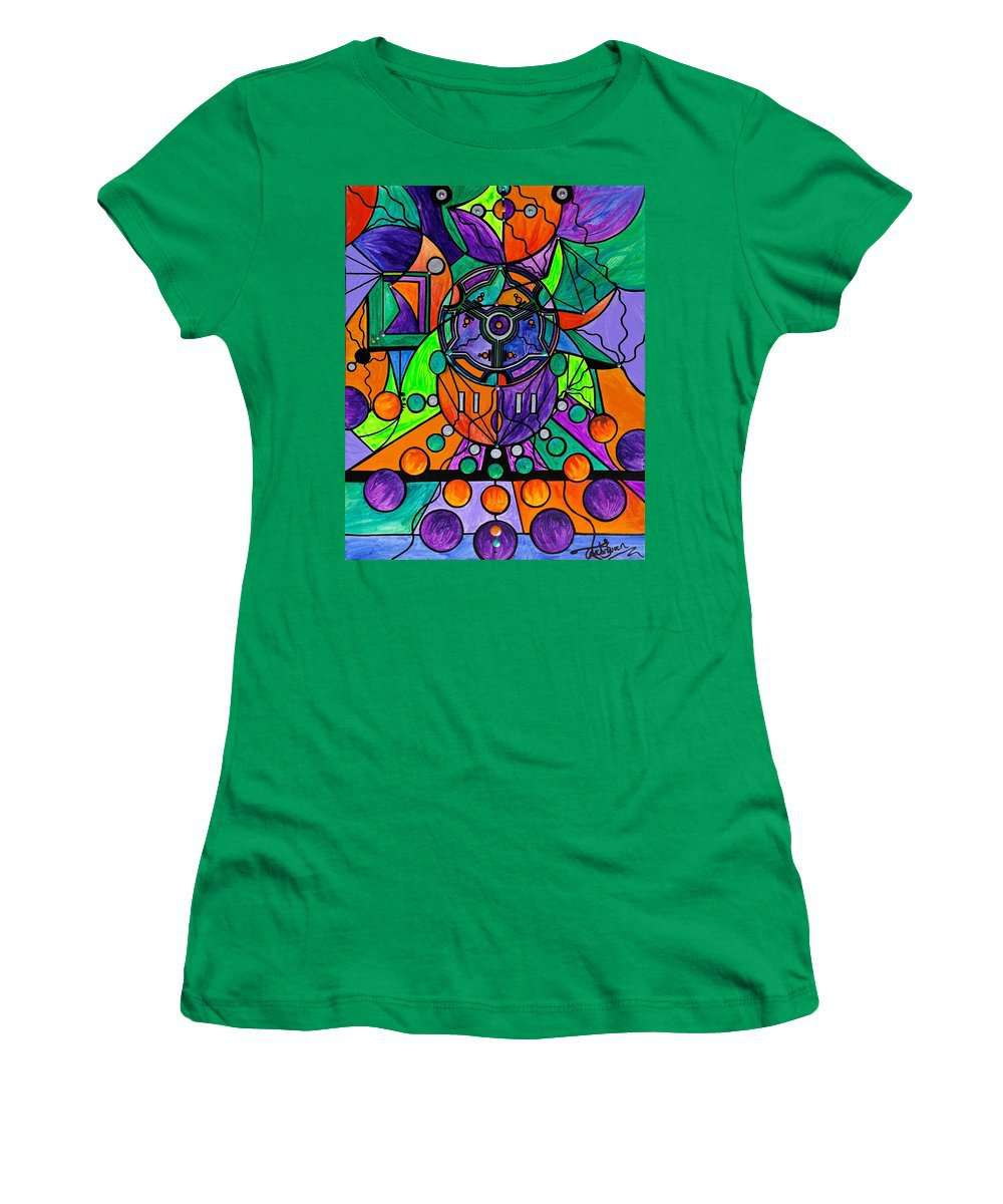 The Sheaf - Pleiadian Lightwork Model,  - Women's T-Shirt