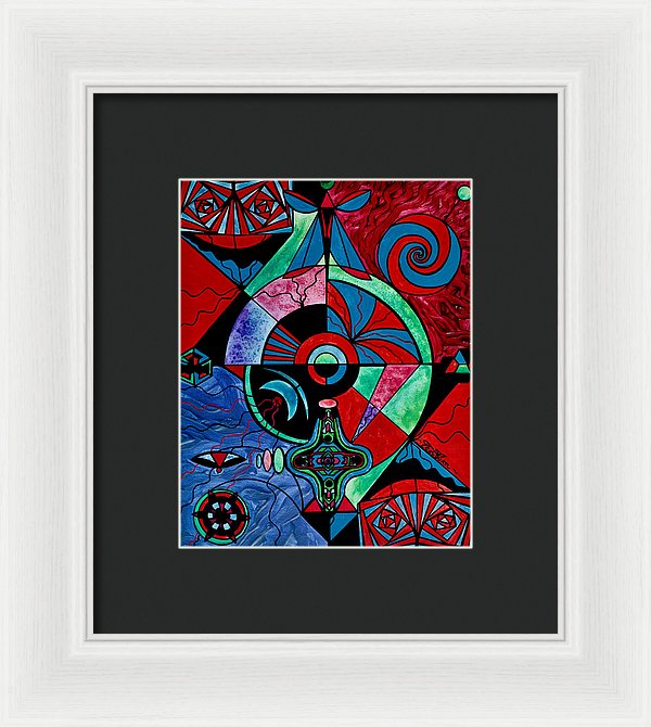 The Strong Bond - Framed Print