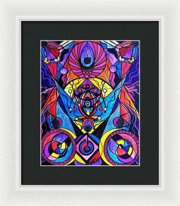 The Time Wielder - Framed Print