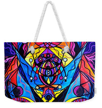 Load image into Gallery viewer, The Time Wielder - Weekender Tote Bag