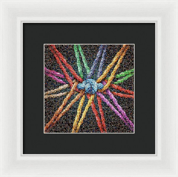 The Tribe Collage - Framed Print