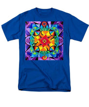 Load image into Gallery viewer, The Way - Arcturian Blue Ray Grid - Men's T-Shirt  (Regular Fit)
