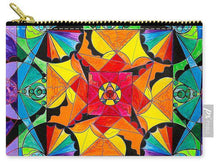 Load image into Gallery viewer, The Way - Arcturian Blue Ray Grid - Carry-All Pouch