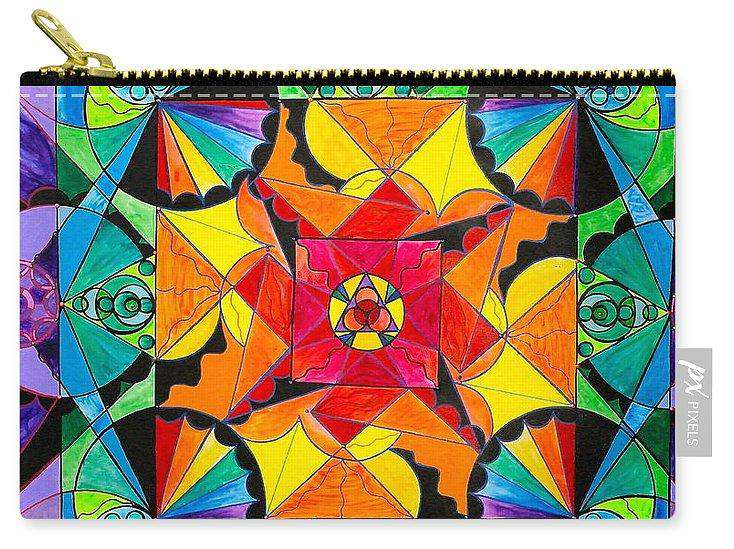 The Way - Arcturian Blue Ray Grid - Carry-All Pouch