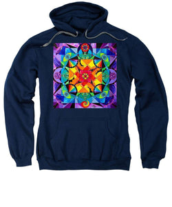 The Way - Arcturian Blue Ray Grid - Sweatshirt