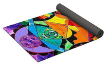 Load image into Gallery viewer, The Way - Arcturian Blue Ray Grid - Yoga Mat