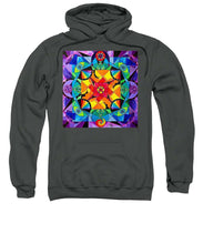 Load image into Gallery viewer, The Way - Arcturian Blue Ray Grid - Sweatshirt