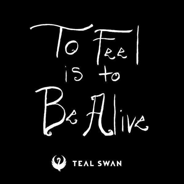 To Feel Is To Be Alive Quote - Art Print