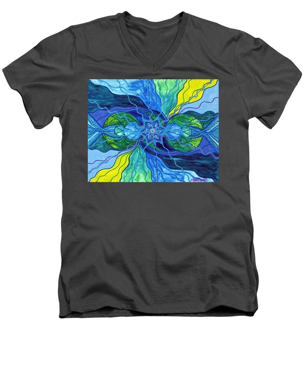 Tranquility - Men's V-Neck T-Shirt
