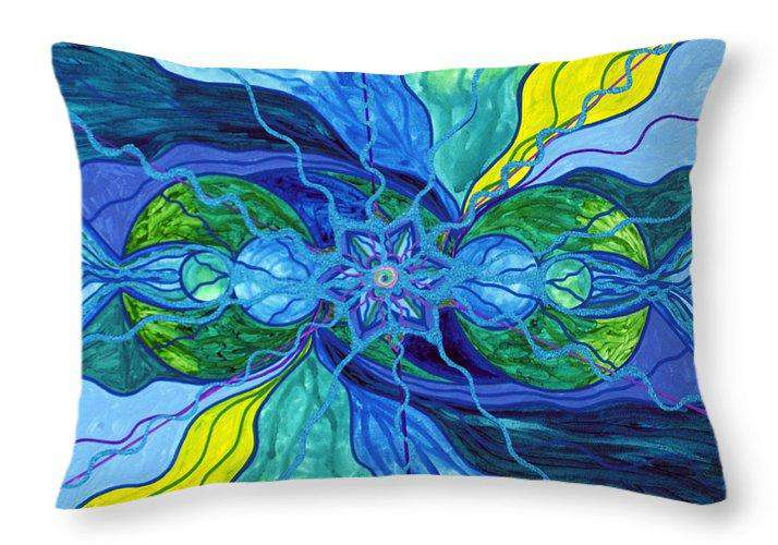Tranquility - Throw Pillow