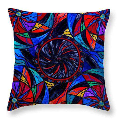 Transforming Fear - Throw Pillow