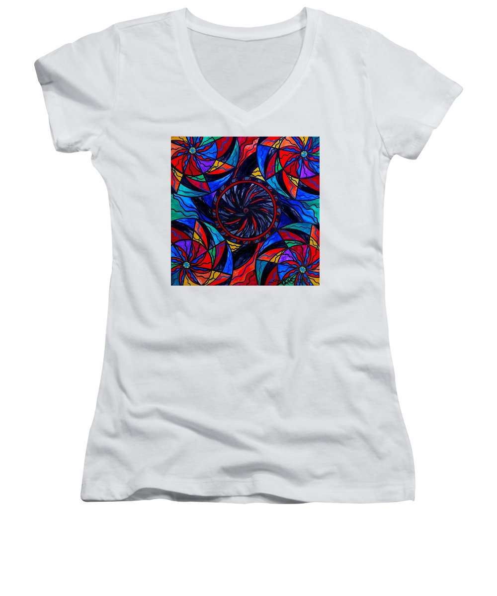 Transforming Fear - Women's V-Neck