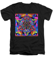 Load image into Gallery viewer, Triune Transformation - Men's V-Neck T-Shirt