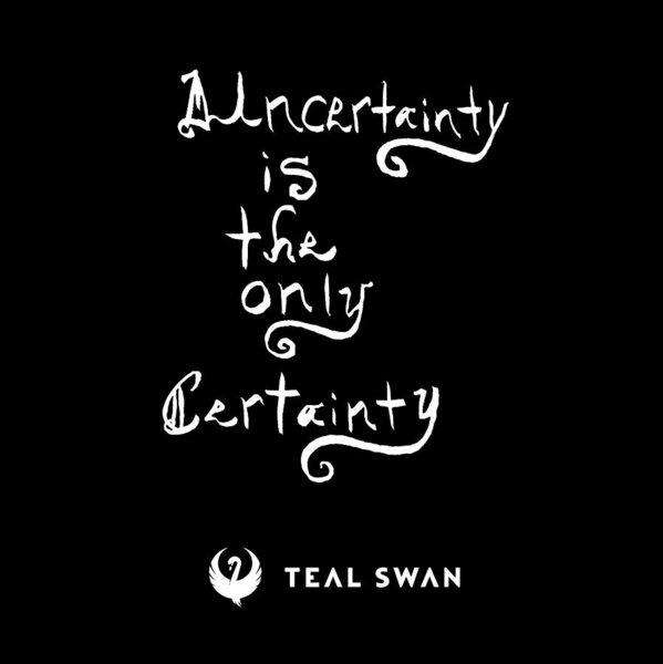 Uncertainty Quote - Art Print