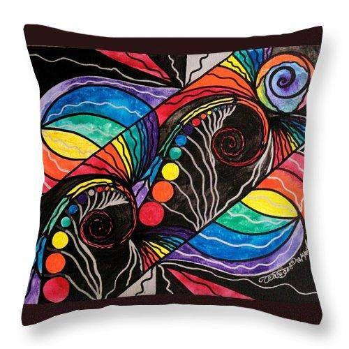Unfold - Throw Pillow