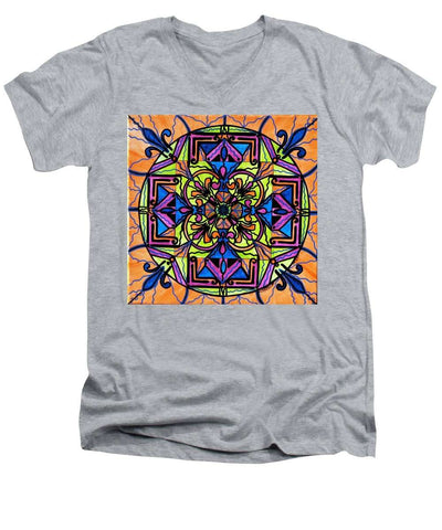 Uplift - Men's V-Neck T-Shirt