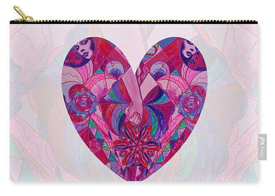 Valentine's Heart - Human Intimacy - Carry-All Pouch