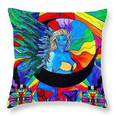 Watcher - Throw Pillow