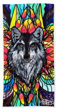 Load image into Gallery viewer, Wolf - Beach Towel