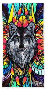 Wolf - Beach Towel