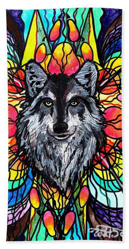 Wolf - Bath Towel