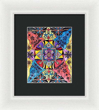 Worldly Abundance - Framed Print