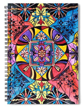 Load image into Gallery viewer, Worldly Abundance - Spiral Notebook