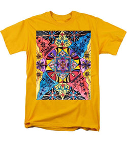 Worldly Abundance - Men's T-Shirt  (Regular Fit)