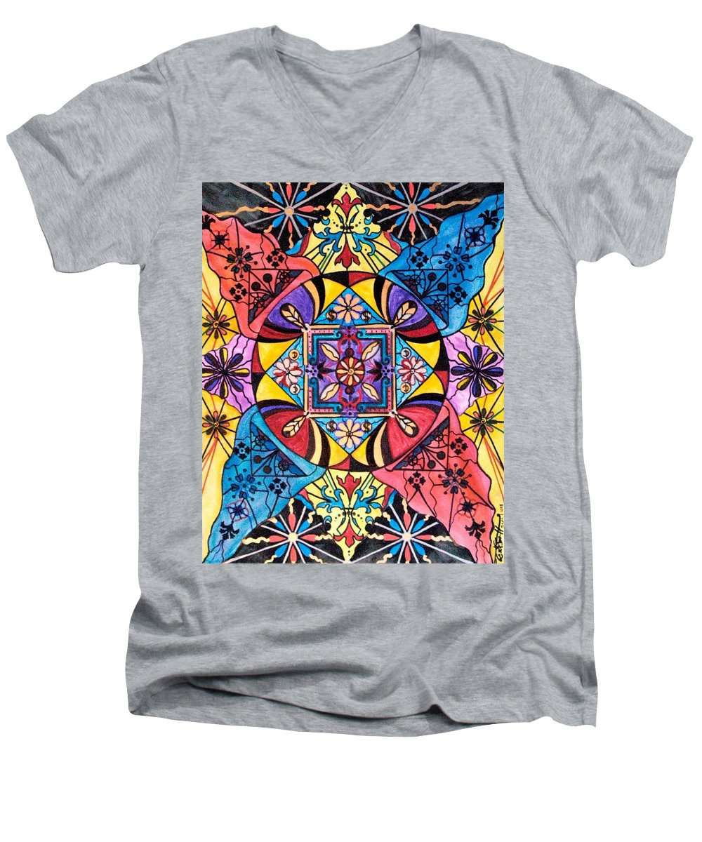 Worldly Abundance - Men's V-Neck T-Shirt