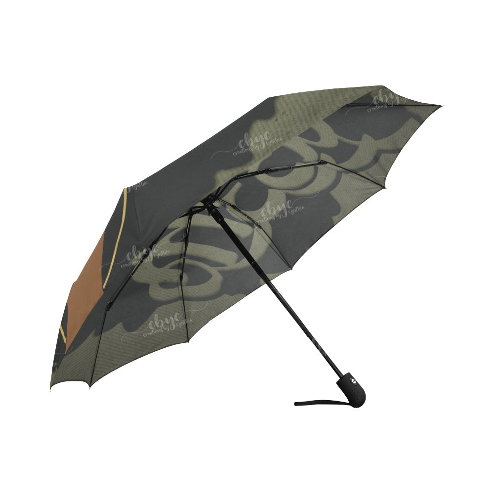 Camo Queen Auto-fold Umbrella