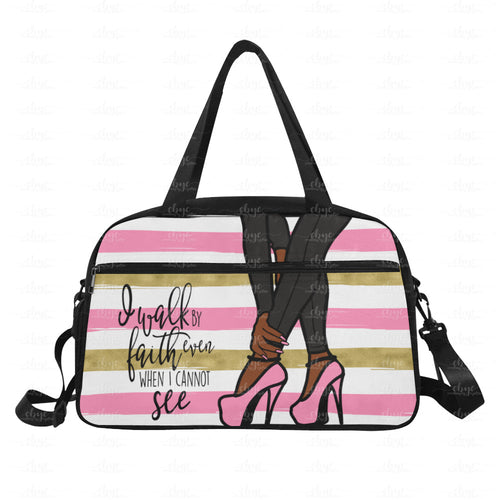 Walk By Faith Weekender/Gym Bag