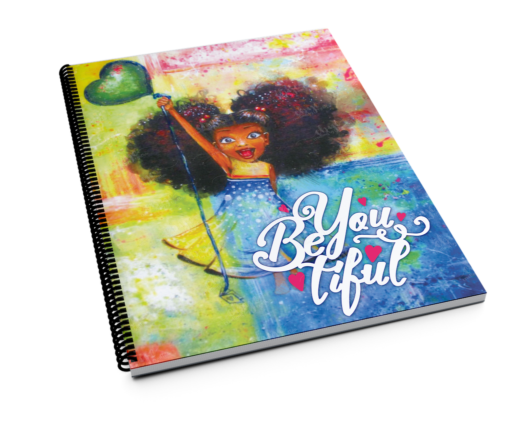 BeYouTiFul Princess Spiral Notebook