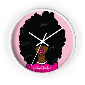 Big Fro Wall Clock