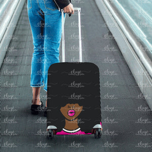 Big Fro Luggage Cover