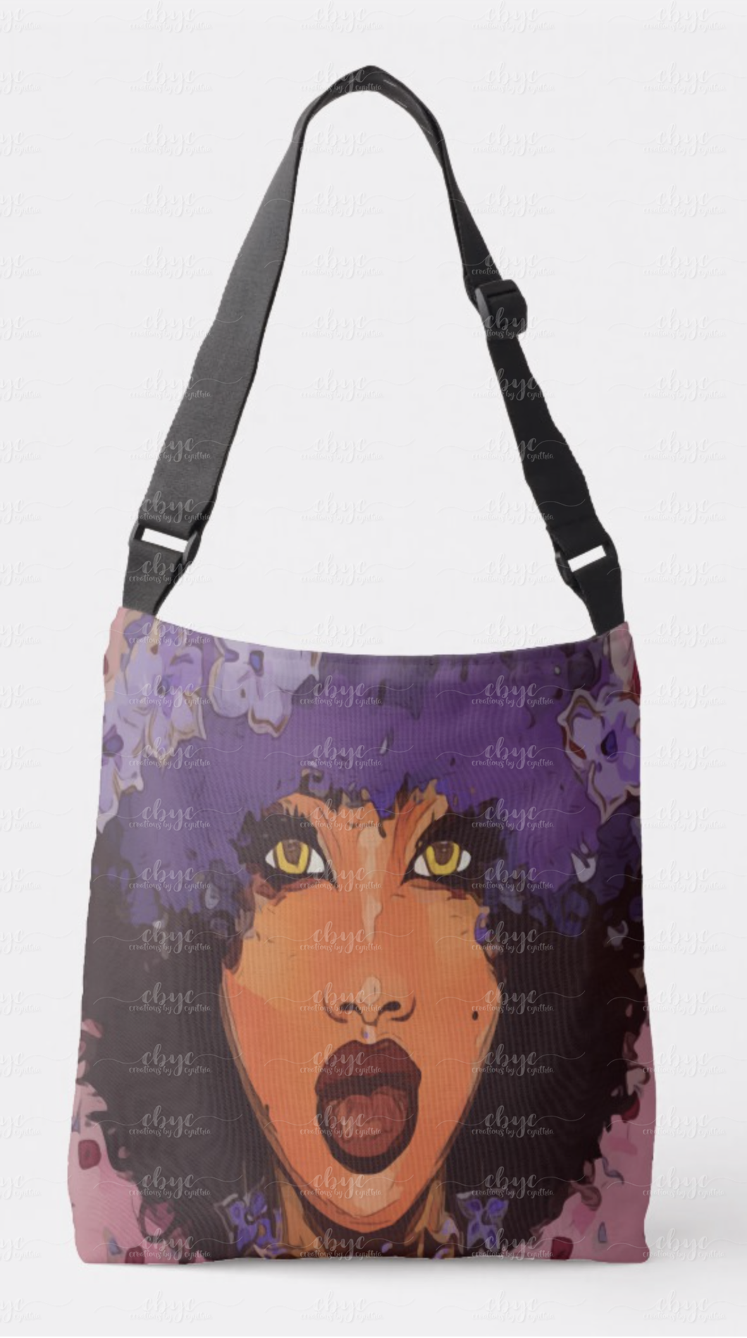 Purple Reigns Crossbody Tote