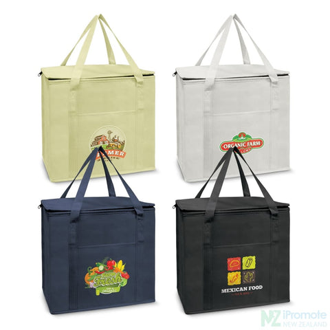 19L Zippered Cooler Tote Bag