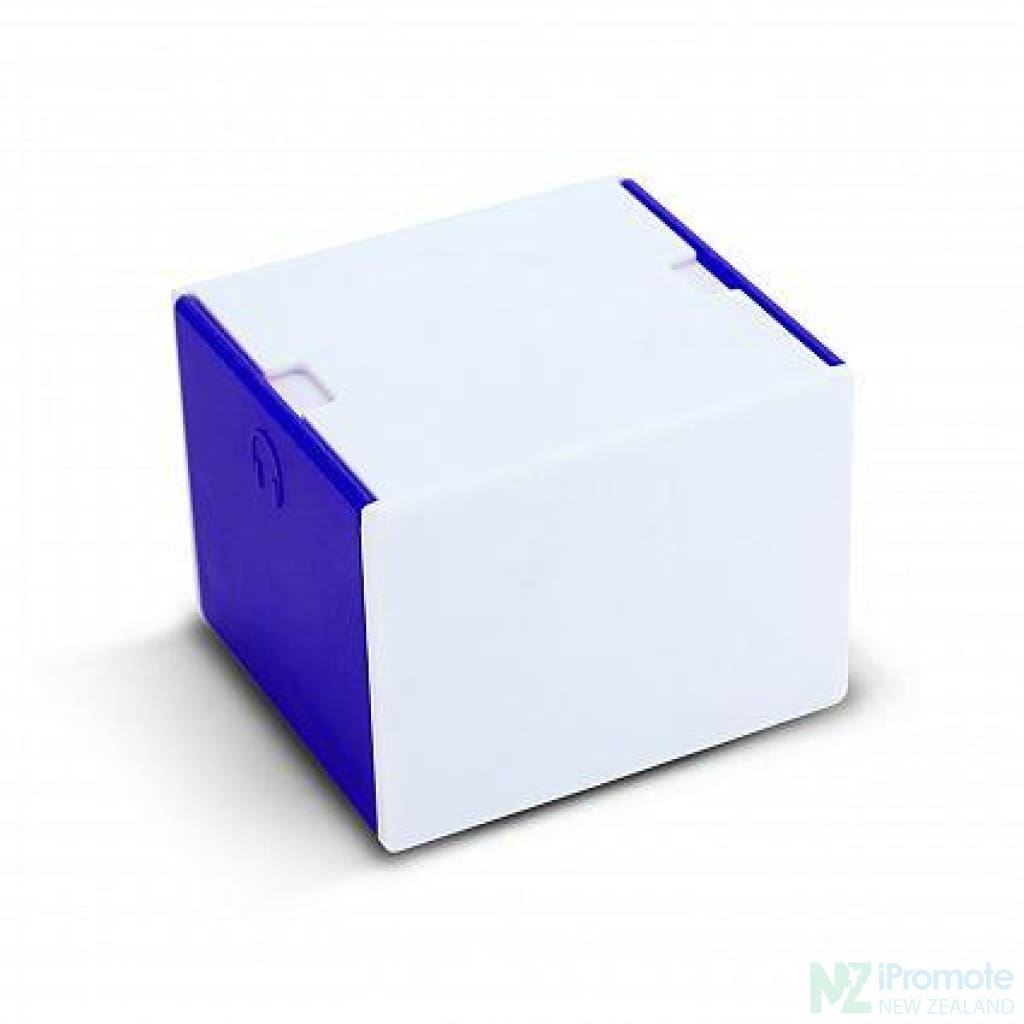 3 In 1 Desk Cube Phone Stand Blue