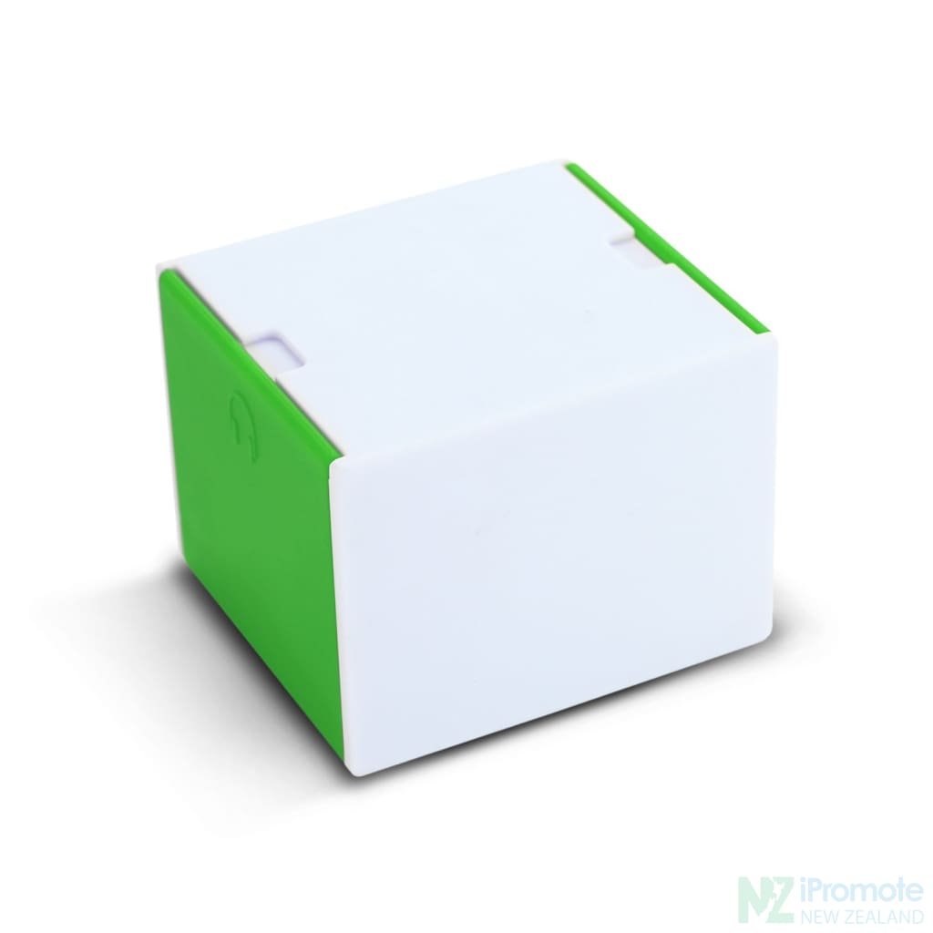 3 In 1 Desk Cube Phone Stand Green